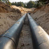 Pipeline On a Ground
